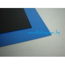 AT - плоскост от разпенено ПВЦ - 3 мм синьо