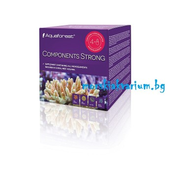 Components Strong  ABCK  4 x 50 ml