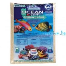 CaribSea Ocean Direct Live Sand - 2.27 kg