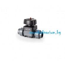 FIP PVC-U диафрагмен кран  - ф 20 мм