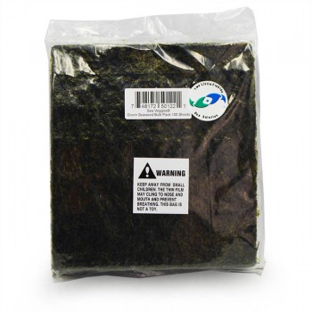 SeaVeggies Green - natural seaweed - 4 листа